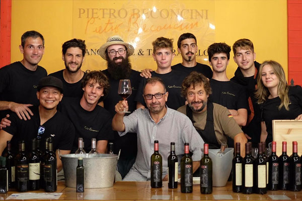 Pietro Beconcini wines in San Miniato